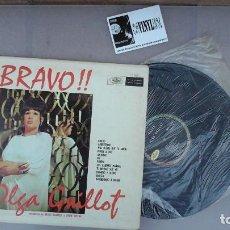Discos de vinilo: OLGA GUILLOT ?– INTERPRETA A MANZANERO LP: MUSART ?– DM-1360, EDICIÓN USA. Lote 87464600