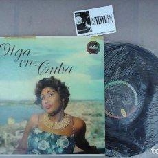 Discos de vinilo: OLGA GUILLOT ?– OLGA EN CUBA LP MUSART ?– D 574 EDICIÓN USA. Lote 87465140