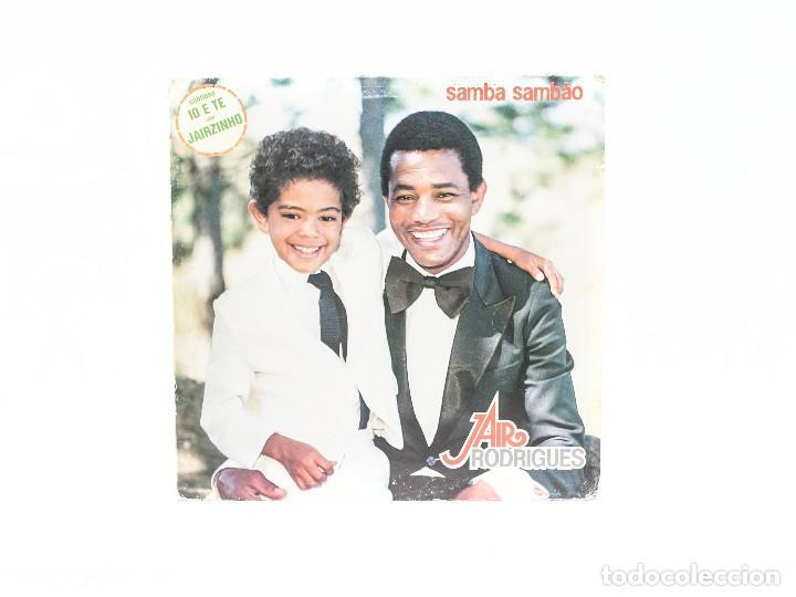 LP. SAMBA SAMBAO. JAIR RODRIGUES. (VG+/VG) (Música - Discos - LP Vinilo - Grupos y Solistas de latinoamérica)