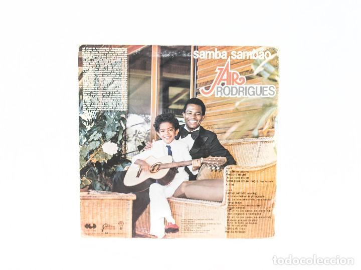 Discos de vinilo: LP. Samba Sambao. Jair Rodrigues. (VG+/VG) - Foto 2 - 87466388