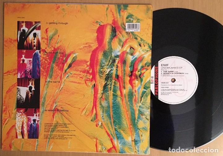 Discos de vinilo: EMF – Unexplained EP - EP 12 Pulgadas VINYL 1992 UK - INDIE Rock - Foto 2 - 87470144