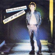 Discos de vinilo: COSTAS CHARITO– LOST IN THE NIGHT - SINGLE PROMO SPAIN 1984. Lote 87484724