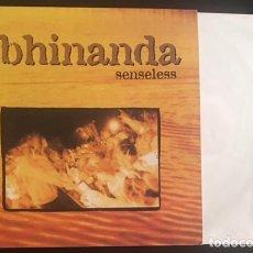 Discos de vinilo: DISCO LP VINILO ABHINANDA SENSELESS HARDCORE. Lote 87514660
