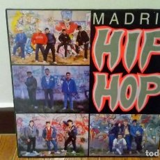 Discos de vinilo: MADRID HIP HOP - LP VINILO. Lote 87542316