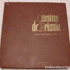 Discos de vinilo: CAMINO DE BETANIA. VIDA DE NUESTRO SEÑOR JESUCRISTO. EDICIÓN DISCOGRÁFICA (1969) 10 LP´S. Lote 87553784