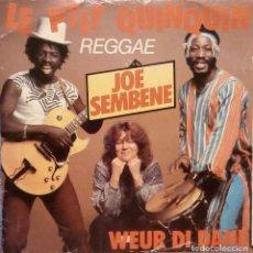 Discos de vinilo: JOE SEMBENE - LE P'TIT QUINQUIN + 1 SINGLE - SEPTEMBER RECORDS MVL 11004 AÑO 1983. Lote 87559128