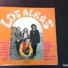 Discos de vinilo: LP LOS ALBAS 60'S POP ESPAÑA. Lote 87573000