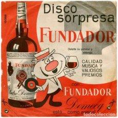 Discos de vinilo: FUNDADOR 10.084 - CANCION MEXICANA - EP 1965. Lote 87575299