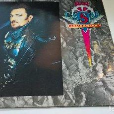 Discos de vinilo: MUSICA LP TINO CASAL HISTERIA CON ENCARTES 1ª ED DE 1989 PJ. Lote 87579608