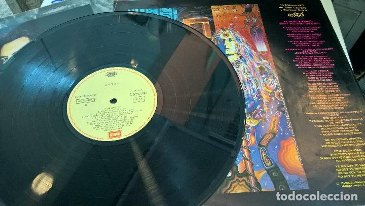 Discos de vinilo: musica lp tino casal histeria con encartes 1ª ed de 1989 pj - Foto 2 - 87579608