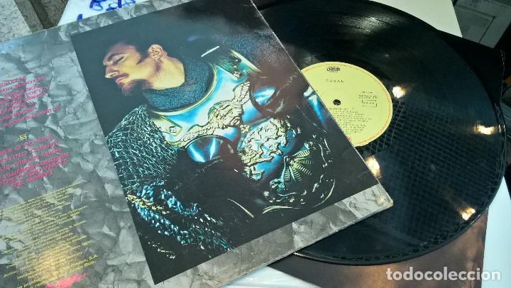 Discos de vinilo: musica lp tino casal histeria con encartes 1ª ed de 1989 pj - Foto 3 - 87579608