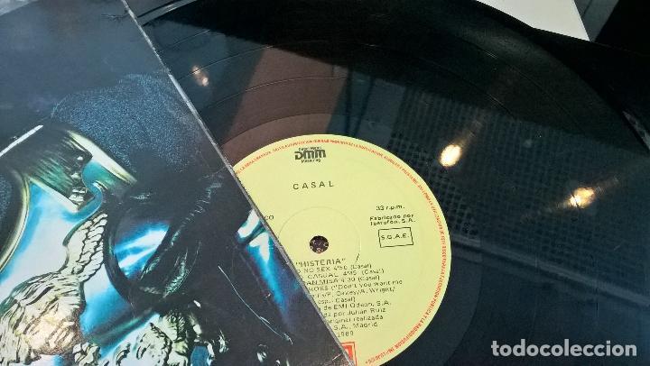 Discos de vinilo: musica lp tino casal histeria con encartes 1ª ed de 1989 pj - Foto 4 - 87579608