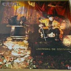 Discos de vinilo: MUSICA LP TINO CASAL LAGRIMAS DE COCODRILO CON ENCARTES 1ª ED DE 1987 PJ. Lote 87579964