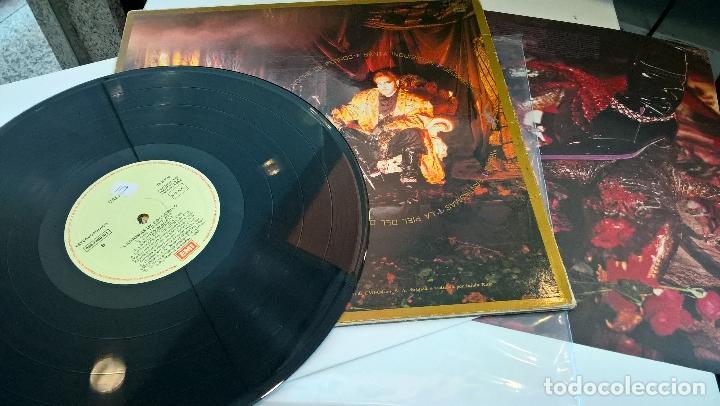 Discos de vinilo: musica lp tino casal lagrimas de cocodrilo con encartes 1ª ed de 1987 pj - Foto 2 - 87579964