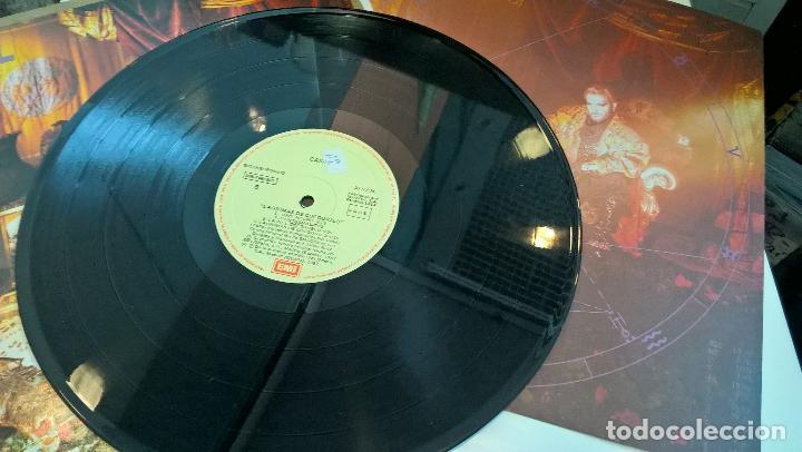 Discos de vinilo: musica lp tino casal lagrimas de cocodrilo con encartes 1ª ed de 1987 pj - Foto 3 - 87579964