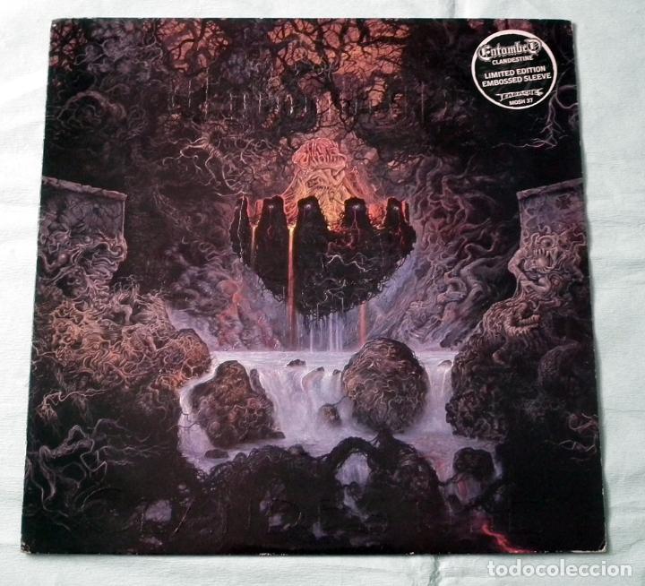 LP ENTOMBED - CLANDESTIINE (Música - Discos - LP Vinilo - Heavy - Metal)