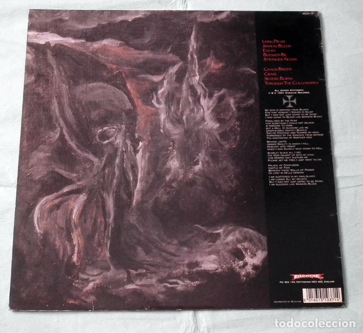 Discos de vinilo: LP ENTOMBED - CLANDESTIINE - Foto 2 - 58553841