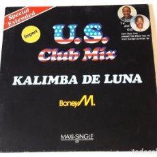 Discos de vinilo: BONEY M. - KALIMBA DE LUNA (SPECIAL EXTENDED U.S. CLUB MIX) - 1984. Lote 87603060