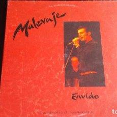 Discos de vinilo: LP MALEVAJE: ENVIDO (DOBLE EN DIRECTO). Lote 87606852