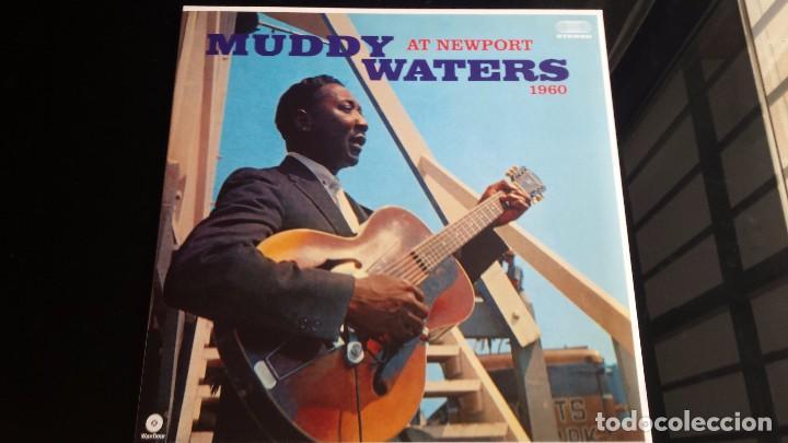 LP MUDDY WATERS: AT NEWPORT 1960 (Música - Discos - LP Vinilo - Jazz, Jazz-Rock, Blues y R&B)