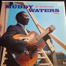 Discos de vinilo: LP MUDDY WATERS: AT NEWPORT 1960. Lote 87608420