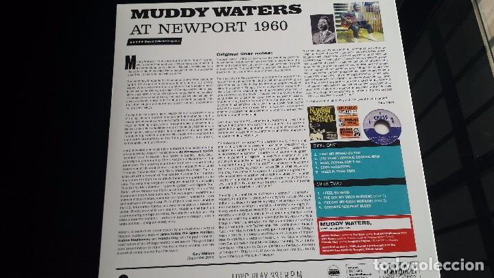 Discos de vinilo: LP MUDDY WATERS: AT NEWPORT 1960 - Foto 2 - 87608420