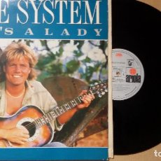 Discos de vinilo: BLUE SYSTEM ?- SHE'S A LADY (MAXI-SINGLE) (1988). Lote 87609460