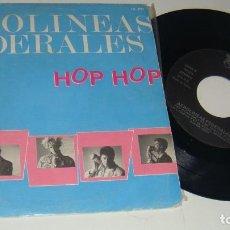 Discos de vinilo: AEROLINEAS FEDERALES - HOP HOP / VEN CONMIGO / LA LONCHA - PROMO - AEROLINEAS FEDERALES. Lote 87626620