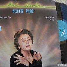 Discos de vinilo: EDITH PIAF - ASÍ CANTA - DOBLE LP 1982 -BUEN ESTADO. Lote 87627112