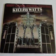 Discos de vinilo: KILLER WATTS - VARIOS ARTISTAS HEAVY METAL (DISCO DOBLE). Lote 87630636