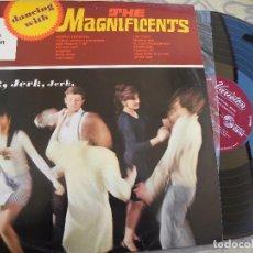 Discos de vinilo: THE MAGNIFICENTS -DANCING WHITH -LP EDIC. INGLESA -BUEN ESTADO. Lote 87630940