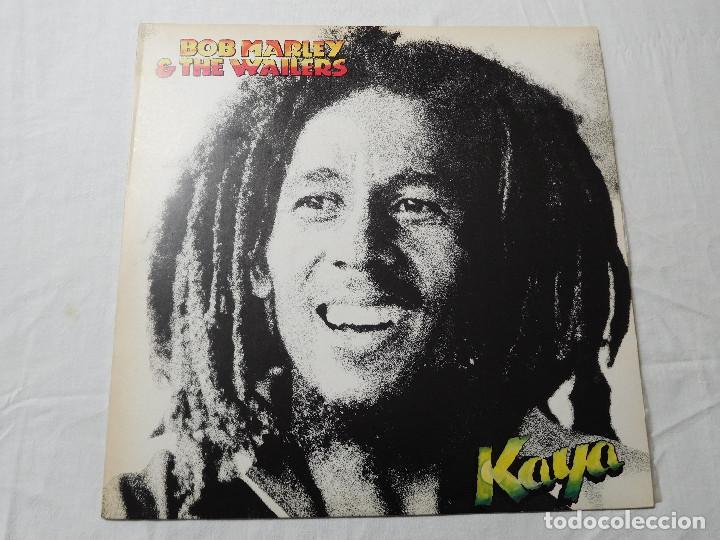 BOB MARLEY & THE WAILERS. LP. KAYA. EDICIÓN ESPAÑOLA. ISLAND 1978 (Música - Discos - LP Vinilo - Reggae - Ska)
