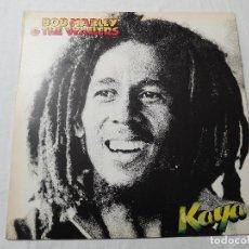 Discos de vinilo: BOB MARLEY & THE WAILERS. LP. KAYA. EDICIÓN ESPAÑOLA. ISLAND 1978. Lote 87633492