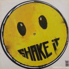 Discos de vinilo: DJ ROOSTER & SAMMY PERALTA, SHAKE IT. MAXI SINGLE PICTURE DISC 3 TEMAS.. Lote 87642936