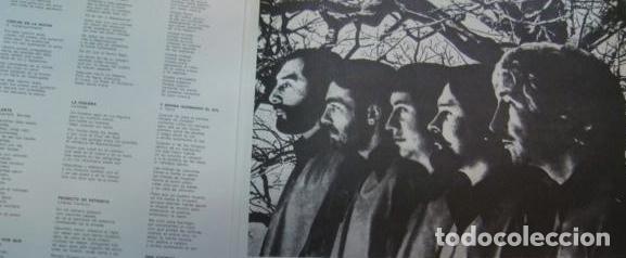 Discos de vinilo: LOS CALCHAKIS - EL CANTO DE LOS POETAS LATINOAMERICANOS - Foto 3 - 87646780