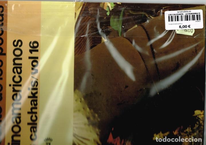 Discos de vinilo: LOS CALCHAKIS - EL CANTO DE LOS POETAS LATINOAMERICANOS - Foto 4 - 87646780
