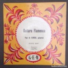 Discos de vinilo: GUITARA FLAMENCA :PEPE DE ALMERIA/FRANCE. Lote 87661296