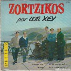 Disques de vinyle: LOS XEY / MAITETXU MIA + 3 (EP 1973) CON LIBRETO. Lote 87663416