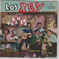 Discos de vinilo: LOS XEY (CANCIONES DE LA PELICULA HABANERA) EP 1959 CONSERVA EL TRIANGULO. Lote 87663672