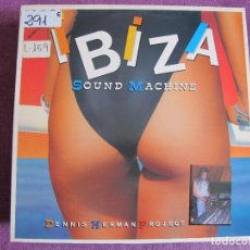 Discos de vinilo: MAXI - IBIZA SOUND MACHINE II - LATIN LOVERS/MARADONA FUNKY/IT'S YOUR FANTASY/BUTRAGUEÑO FUNKY. Lote 87666772
