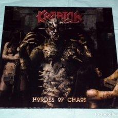 Discos de vinilo: LP KREATOR - HORDES OF CHAOS. Lote 51259694