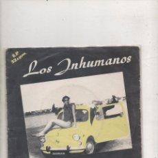 Discos de vinilo: LOS INHUMANOS - VERANO INHUMANO - PRIMER EP 1983.. Lote 87676772
