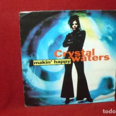 Discos de vinil: CRYSTAL WATERS / MAKIN' HAPPY / MERCURY / 1991.. Lote 87680172