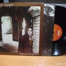 Discos de vinilo: SOLEDAD BRAVO - CANTOS SEFARDIES 1980 LP CON ENCARTES PEPETO. Lote 87686040