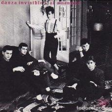 Discos de vinilo: DANZA INVISIBLE - AL AMANECER. SINGLE PROMOCIONAL 1983. Lote 87691912