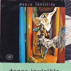 Discos de vinilo: DANZA INVISIBLE - TIEMPO DE AMOR. SINGLE PROMOCIONAL 1983. Lote 87691996