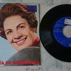 Discos de vinilo: NIÑA DE ANTEQUERA: LA CULPA LE ECHAMOS / PIERDO LOS CINCO SENTIDOS + 3 (COLUMBIA 1967). Lote 87692664