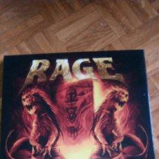Discos de vinilo: RAGE SOUNDCHASER ARCHIVES BOX 4LPS NUEVA PRECINTADA. Lote 87752150