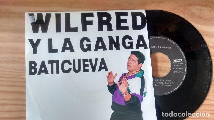 SINGLE (VINILO) DE WILFRED Y LA GANGA AÑOS 90 (Música - Discos - Singles Vinilo - Rap / Hip Hop)