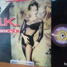 Discos de vinilo: J.K. YOU & I -WANCHU MUSIC 004,,2002. Lote 87792424
